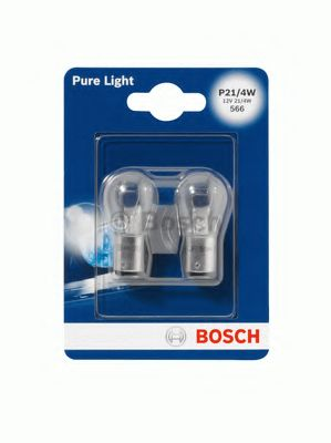 Лампа фары H4 Pure Light - Standard60/55 W блистер 1987301001BOSCH